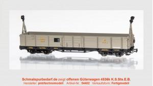 offener Güterwagen K4536 K.S.Sts.E.B.