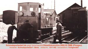 Diesellokomotive 2092.02 ÖBB Ep. III