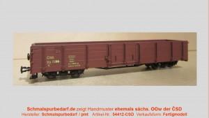 offener Güterwagen CSD Ep. III