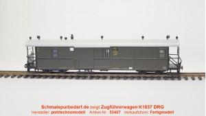 Einheits-Packwagen K1837 (DRG-Zug) SOEG