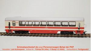 Personenwagen Bxhpi 00-450044318-1 PKP
