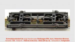 Rollwagen Rf4 97-05-39 DR, kurz // Hbl.-Br.