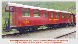 DFB Plattformwagen AB 4462
