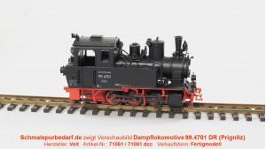 Dampflokomotive 99.4701 DR