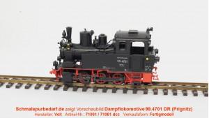 Dampflokomotive 99.4701 DR // digital