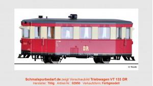 Triebwagen VT 133 DR
