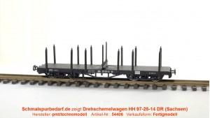 Drehschemelwagen HH 97-25-14 DR // neue Betriebsnr.