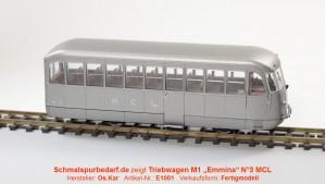 Dieseltriebwagen M1 N°3 MCL