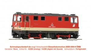Diesellokomotive 2095.006-9 ÖBB Ep.IV