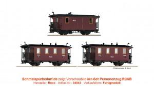 3er-Set Personenzug RüKB