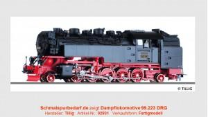 Dampflokomotive 99.223 DRG