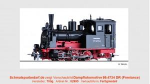 """Dampflokomotive """"99.4734"""" DR"""