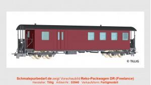 Reko-Pack-/Personenwagen KBD4i DR // lang