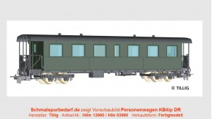 Einheits-Personenwagen KB4ip 900-230 DR