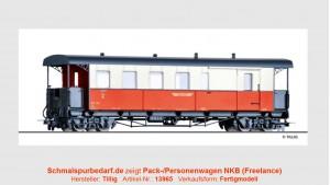 "Pack-/Personenwagen BD 130 ""NKB"""