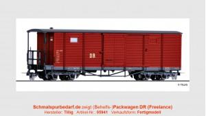 """(Behelfs-)Packwagen KD4 """"972-908"""" DR"""