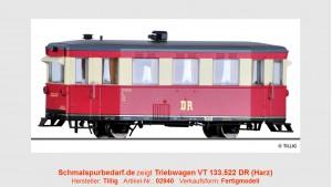 Triebwagen VT 133.522 DR