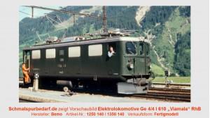 "RhB Elektrolokomotive Ge 4/4 I 610 ""Viamala"""