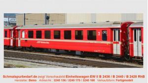 RhB Einheitswagen EW II B 2436, rot