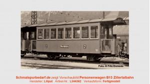 Personenwagen Bi 13 ZB // Ep. III