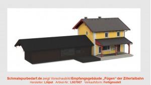 """Empfangsgebäude """"Fügen"""""""