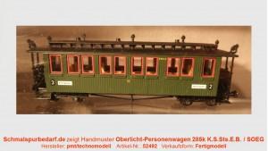 Oberlicht-Personenwagen K285 (Sachsenzug) SOEG