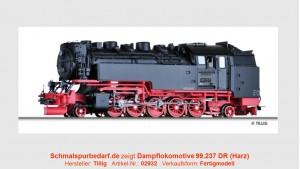 Dampflokomotive 99.237 DR