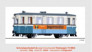 Triebwagen T3 MEG