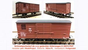 gedeckter Güterwagen K 20010 PKP