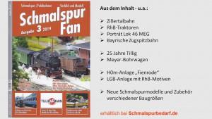 SchmalspurFan Ausgabe 3/2019