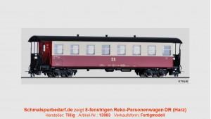 Reko-Personenwagen DR // 8-fenstrig