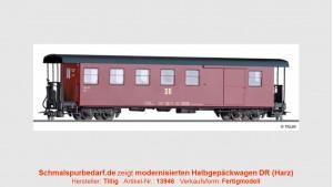Teilreko Pack-/Personenwagen KBD4i DR // lang
