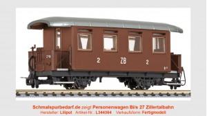 Personenwagen Bi 27 ZB // Ep. III