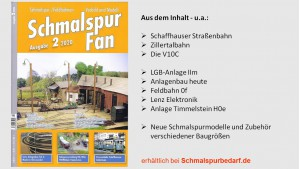 SchmalspurFan Ausgabe 2/2020