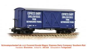 Covered Goods Wagon 48021 SR, blau