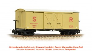 Insulated Goods Wagon 48050 SR, beige