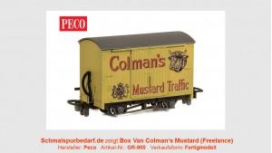 """Box Van """"Coleman's Mustard"""""""