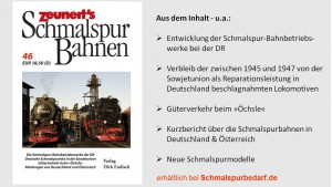 Zeunert's Schmalspur Bahnen Band 46
