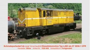 Diesellokomotive L45H 87 0036-1 CFF