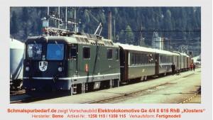 "RhB Elektrolokomotive Ge 4/4 II 615 ""Klosters"""
