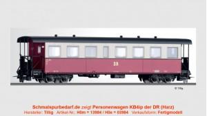 Einheits-Personenwagen KB4ip 900-513 DR