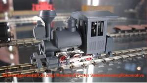 Porter 0-6-0 Satteltank Dampflokomotive