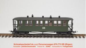 Personenwagen 970-773 DR