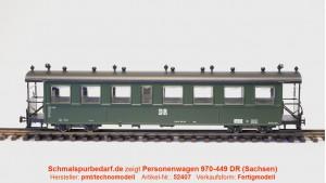 Einheits-Personenwagen 970-449 DR