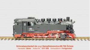 Dampflokomotive 99.788 Öchsle