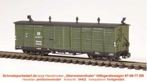 """""""Oberwiesenthaler"""" Hilfsgerätewagen 97-09-77 DR"""