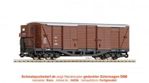 gedeckter Güterwagen GGm/s 16 829 ÖBB