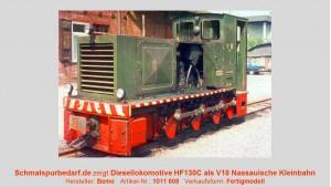 Diesellokomotive Typ HF130C als V 18 NKAG